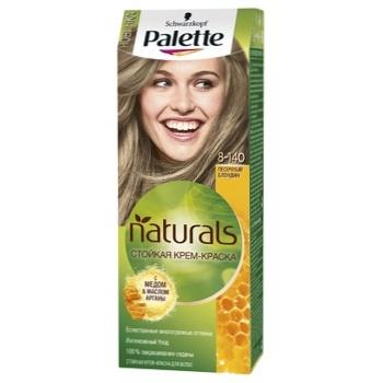 Крем-фарба для волосся Palette Naturals 8-140 Пісочний блонд 110мл