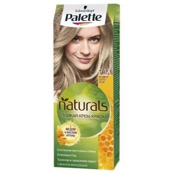 Крем-фарба для волосся Palette Naturals 9-1 Холодний Світло-русявий 110мл