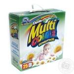 Порошок для прання Multicolor Sensitive к/к 2,5кг