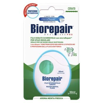 Biorepair Dental Floss Daily Protection - buy, prices for MegaMarket - image 1