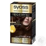 SYOSS Oleo Intense Hair Dye Ammonia Free 3-82 Red Wood 115ml