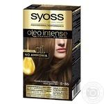 Краска для волос Syoss Oleo Intense 5-86 Карамельный каштановый без аммиака 115 мл