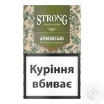 Сигареты Strong армейские с фильтром пачка