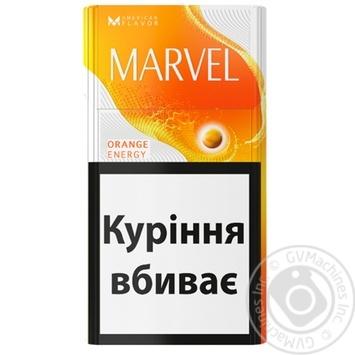 Сигареты Marvel orange energy - купить, цены на Таврия В - фото 1
