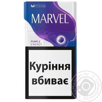 Marvel Purple Energy Cigarettes - buy, prices for EKO Market - photo 1