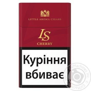 Сигариллы LS Cherry с фильтром 20шт - купить, цены на Ашан - фото 1