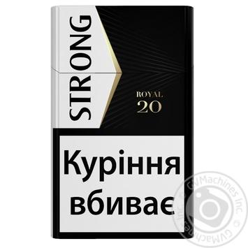 Сигариллы Strong Royal с фильтром