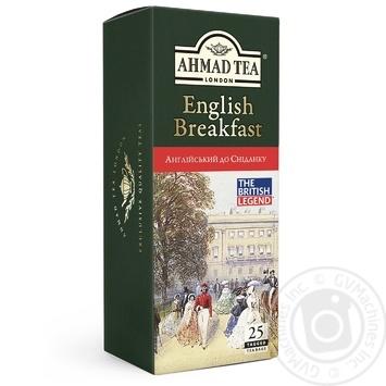 Ahmad Tea English Breakfast Black Tea in tea bags 25х2g - buy, prices for Varus - image 1