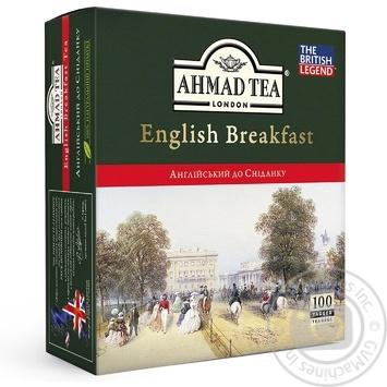 Ahmad Tea English Breakfast Black Tea in tea bags 100х2g - buy, prices for Novus - image 1