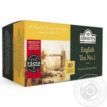 Ahmad Tea English #1 Black Tea in tea bags 40х2g - buy, prices for Novus - image 1