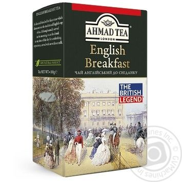 Чай черный Ахмад Английский к завтраку 100г