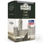 Чай Ахмад Граф грей черный листовой 100г - купить, цены на Фуршет - фото 1