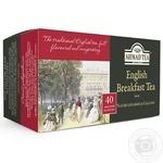 Чай черный Ахмад Английский к завтраку пакетированный 40х2г - купить, цены на Varus - фото 1