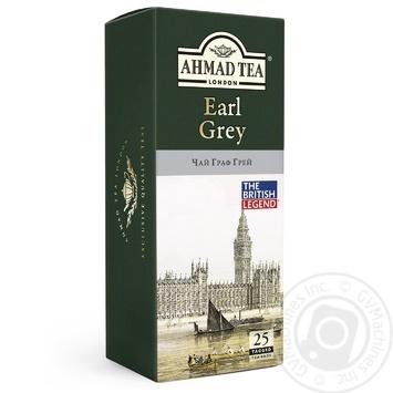 Чай черный Ахмад Граф Грей пакетированный 25х2г
