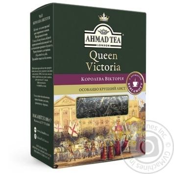 Ahmad Tea Queen Victoria Large Leafy Black Tea with Delicate Bergamot Aroma 100g - buy, prices for MegaMarket - image 1