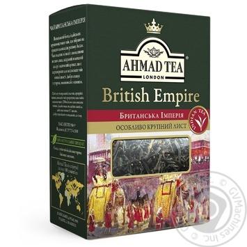 Чай черный крупнолистовой Ахмад Британская Империя 50г - купить, цены на МегаМаркет - фото 1