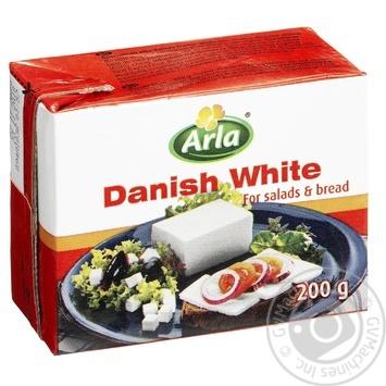 Сыр Арла Данвайт рассольный 50% 200г - купить, цены на МегаМаркет - фото 1