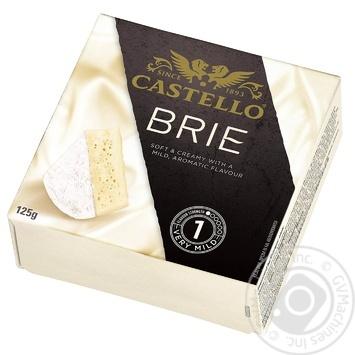 Сир Castello Брі м'який з білою пліснявою 50% 125г