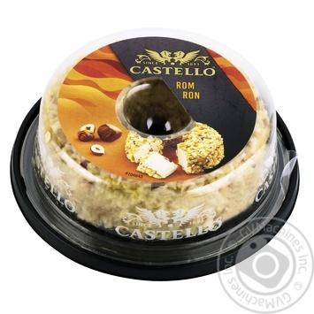 Крем-сыр Castello с ромом и орехами 65% 125г - купить, цены на Ашан - фото 1