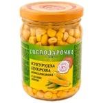 Corn Gospodarochka 250g twist glass jar