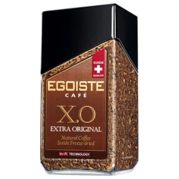 Кава Egoiste X.O. розчинна с/б 100г - купити, ціни на Ашан - фото 1