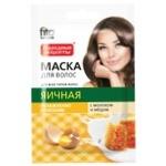 Маска для волос Фито Косметик Яичная с молоком и медом 30мл