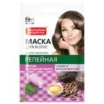 Маска для волос Фито Косметик Репейная с какао и яичным желтком 30мл