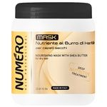 Brelil Numero Nourishing hair mask with shea butter 1l