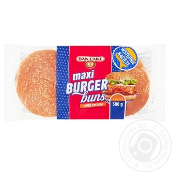 Мега бургер Dan Cake 300г