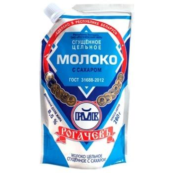 Молоко згущене Рогачів незбиране з цукром 8.5% 280г - купити, ціни на Восторг - фото 1