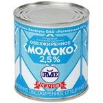 Молоко згущене Рогачевъ частково знежирене з цукром 2,5% 380г