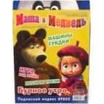Журнал Маша и медведь