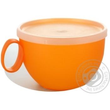 Чашка Sagad з кришкою 12см