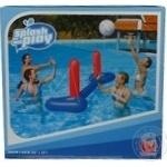 Набір BestWay import надувні волейбольні ворота 244*64см,надувний м'яч 41см