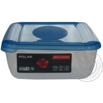 Plast Team Polar Rectangular Freezer Box 0,9l
