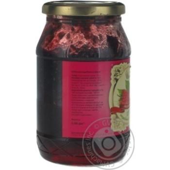 Jam Belfood raspberry with sugar 480g glass jar - buy, prices for Novus - image 3