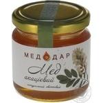 Honey Medodar acacia 250g glass jar