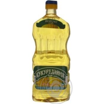 Олія кукурудзяна рафінована Сватово 1л