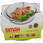 Simax Round Pan With Lid 3,5l