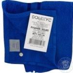 Рушник Домікус 40*80 синій,блакитний