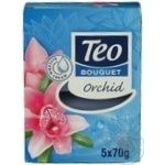 Soap Teo orchid solid 5pcs 350g Bulgaria