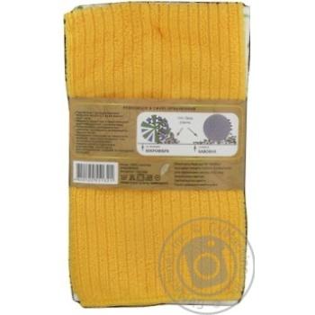 Zastelli Microfiber Towel 40х48cm 2pcs in Assortment - buy, prices for MegaMarket - image 5