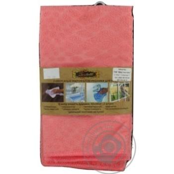 Zastelli Microfiber Towel 40х48cm 2pcs in Assortment - buy, prices for MegaMarket - image 3