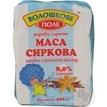 Cottage cheese Voloshkove pole with vanillin flavor not heat-treated 8% 200g
