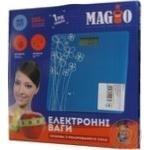 Ваги електр.Magio MG-297 150кг р/к диспл.скло