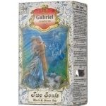 Black and green tea Gabriel Two Souls with an extract of bergamot raspberry and flower petals 100g Sri Lanka