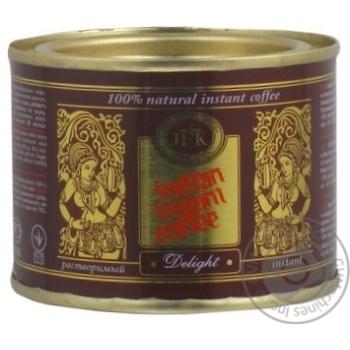 Кофе Джей Эф Ка Индиан Инстант Дэлайт натуральный растворимый порошкообразный 45г Индия
