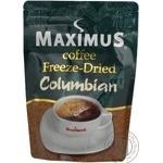 Кофе Максимус Колумбиан натуральный растворимый сублимированный 150г Украина