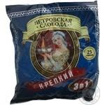 Instant strong coffee drink Petrovskaya Sloboda 3in1 stick Russia