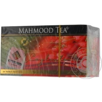 Чай Махмуд со вкусом вишни черное